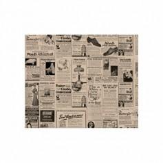 Feuilles papier ingraissable brun 28 x 34 cm