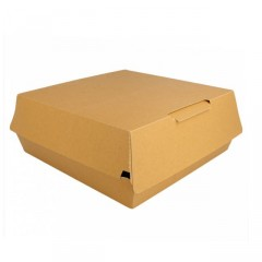 Boite lunch box kraft brun 24 x 9 x 23,5 cm - par 50