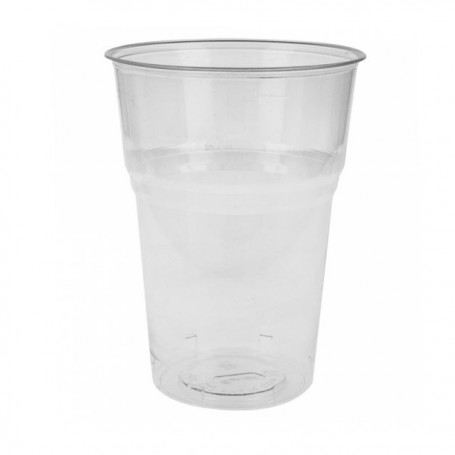 Gobelet biodégradable transparent en PLA 40 cl - par 50