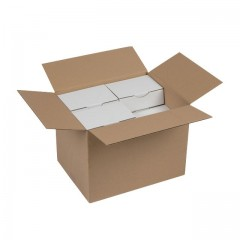 Caisse américaine carton simple cannelure 54,5 x 34,5 x 32,5 cm - par 20
