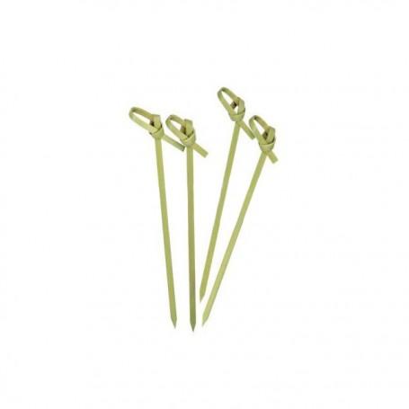 Pique ruban boucle en bambou 9 cm - par 100