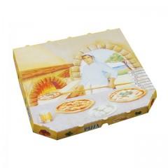 Boîte pizza à coins cassés 40 x 40 x 3 cm - par 100