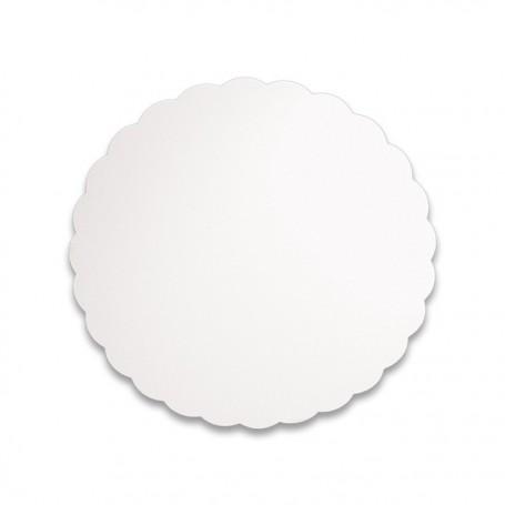 Support blanc rond diamètre 20 cm - paquet de 500