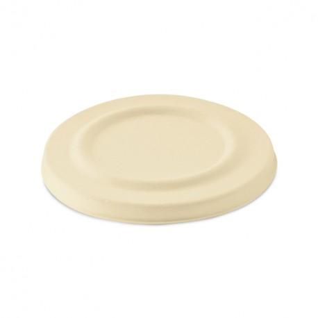 Couvercle pour gobelet écologique 425 ml en pulpe recyclable