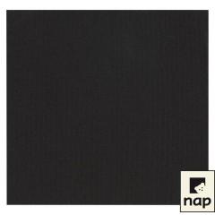 Serviette jetable céli-ouate 38 x 38 cm noir - par 50